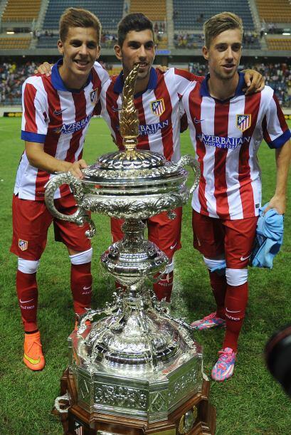 Es el noveno trofeo veraniego de la ciudad de Cadiz que gana el Atlético...