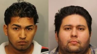 Junior Velasquez y Erick Carranza recibieron cargos por robo, privación...
