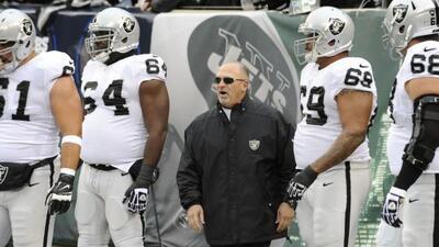 Nueva era de Sparano con los Raiders, ahora como HC (AP-NFL).