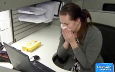 Los estornudos propagan la gripe e influenza más rápido de lo habitual