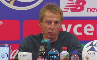 """Klinsmann: """"Es un momento muy difícil para nosotros, no imaginábamos ini..."""