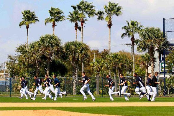 Los entrenamientos primaverales 2011 están en marcha y los Yankee...