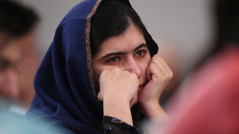 La activista paquistaní Malala Yousafzai.
