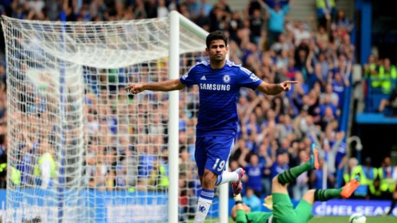 Diego Costa quiere seguir su racha goleadora con el Chelsea.
