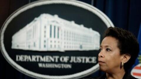 La fiscal general de Estados Unidos, Loretta Lynch.