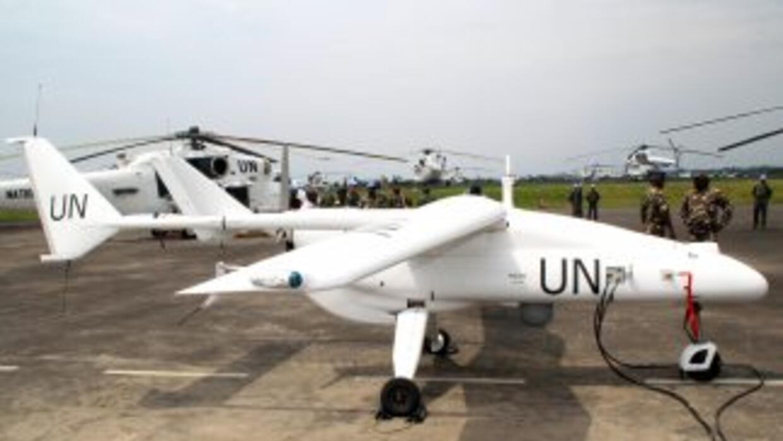 El drone despegó de Goma, capital de Kivu del Norte, provincia fronteriz...