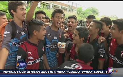 Los rojinegros del Atlas vencieron a Guadalajara en la categoría Sub 15