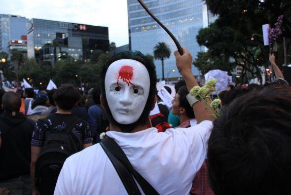 Según cifras del gobierno de la Ciudad de México, en la marcha participa...