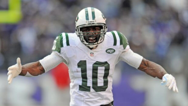 Los Jets cortaron a Santonio Holmes (AP-NFL).
