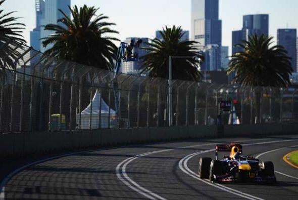 Vettel dio el primer paso para repetir como campeón de la F&oacut...