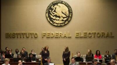 Instituto Federal Electoral mexicano.