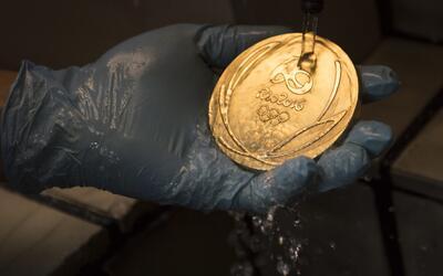 Fábrica de medalla