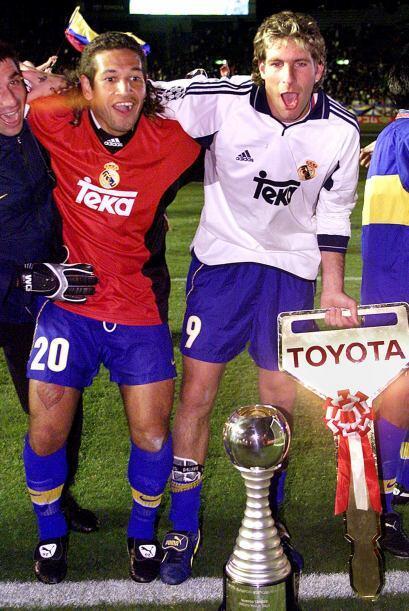 La celebración histórica luego de la victoria ante Real Ma...