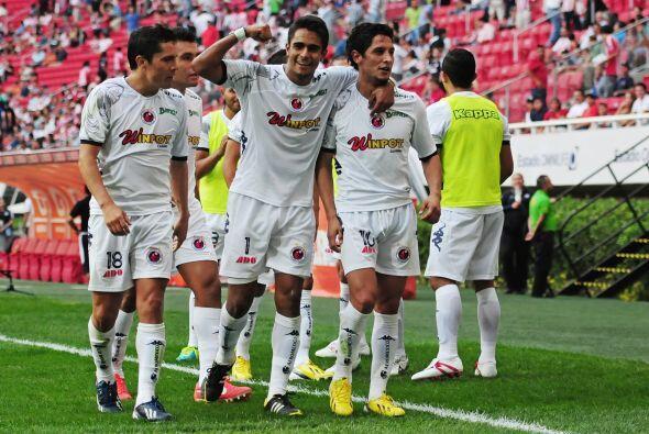 Desde su regreso a primera división el Veracruz se mantiene invic...