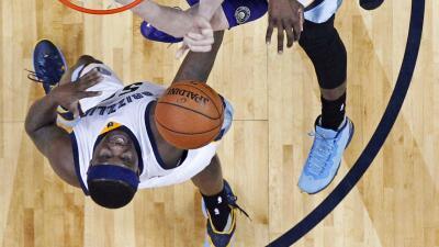 Randolph totalizó 22 puntos y 12 rebotes.