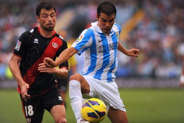 El Málaga jugó su peor partido de la temporada.