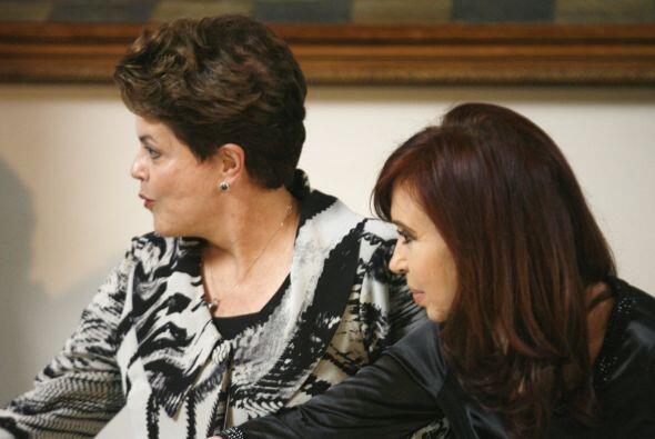 Además se rememoró la labor de sus antecesores -Néstor Kirchner y  Luiz...