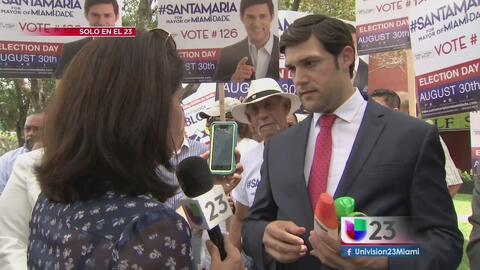 Continúa la polémica en la campaña de Alfred Santamaría