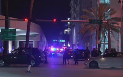 Los incidentes violentos en Miami Beach que opacaron el fin de semana de...