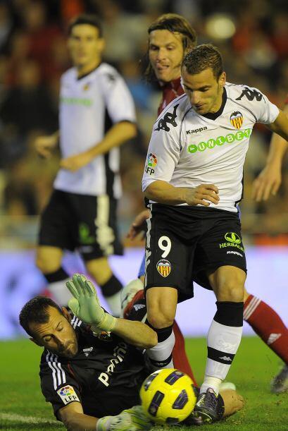 Valencia y Zaragoza no se sacaron ventaja y empataron 1 a 1.