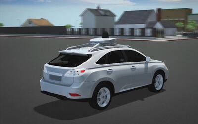 Animación: Google car se ve involucrado en un nuevo accidente