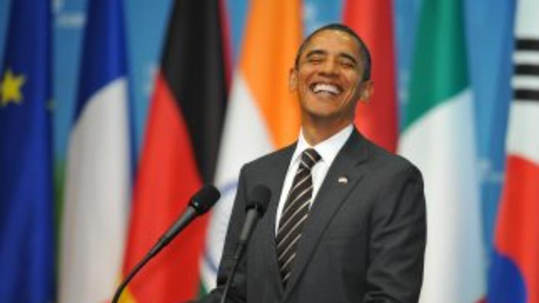 Obama habló ante los líderes de las potencias mundiales en la Cumbre de...
