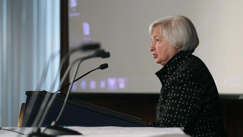 Janet Yellen, la presidenta de la Reserva Federal, dijo este mes que un...