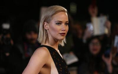 Jennifer Lawrence en el estreno de 'Mockingjay Part 2' en Londres.