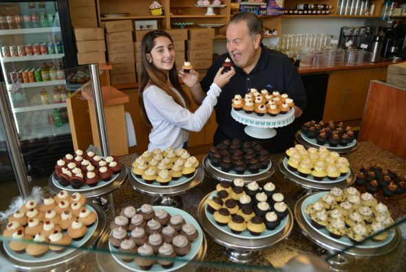 Los 'cupcakes' son uno de los pecados favoritos de Raúl de Molina y lo c...