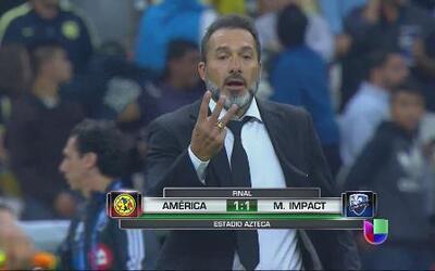 América 1 - Montreal Impact 1: Las Águilas están más vivas que nunca