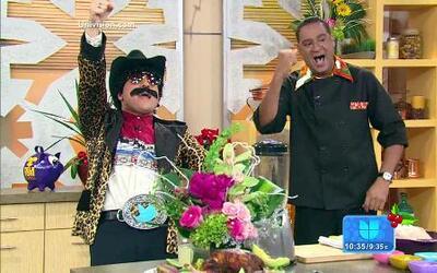 El chef Carlos preparó 'Pollo Caco e Macao' en Despierta América