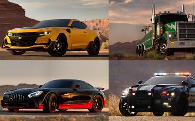 """Los autos de """"Transformers: The Last Knight"""""""