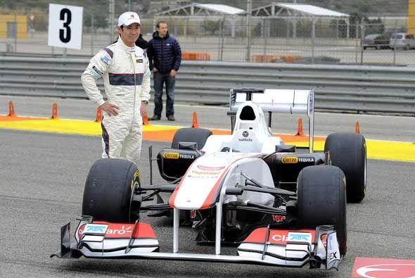 Kobayashi, que quedó 12do. el pasado año en el Mundial de F1, aseguró qu...