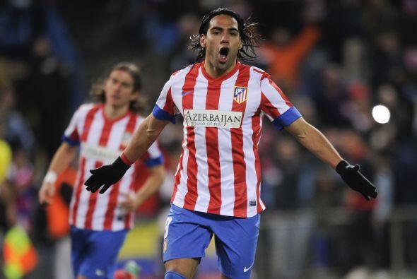 El delantero del Atlético de Madrid comandó a su equipo an...