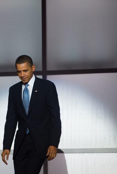 El presidente Barack Obama se reunió el jueves con un grupo de &q...