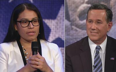 Le llueven las críticas al exaspirante presidencial Rick Santorum por pe...