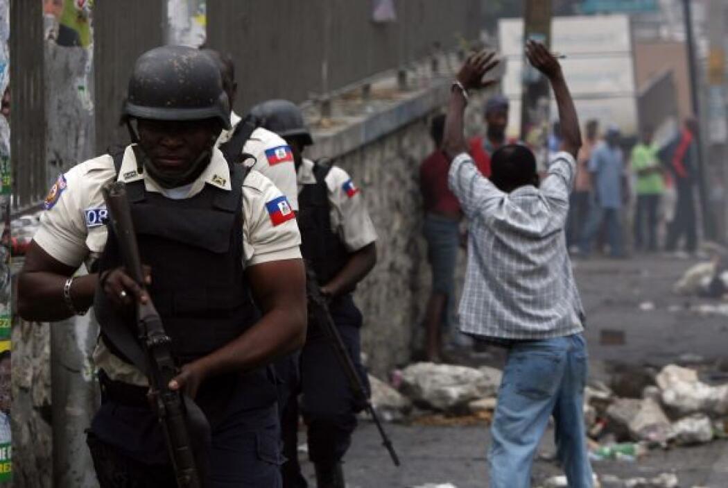 El ex presidente interino de Haití, Boniface Alexandre (2004-2006) teme...