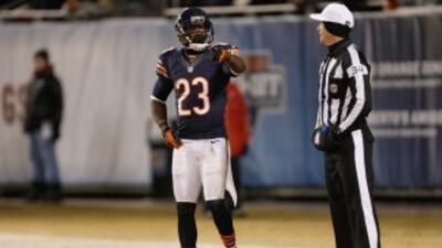 Devin Hester podría salir de los Bears (AP-NFL).