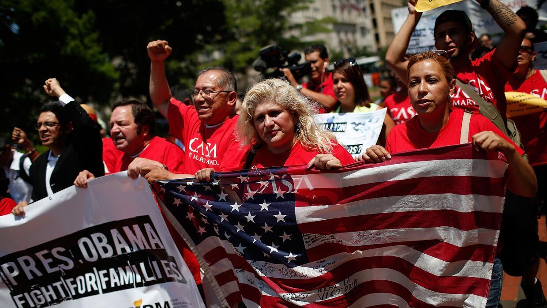 Indocumentados piden al gobierno de Obama que detenga las deportaciones.