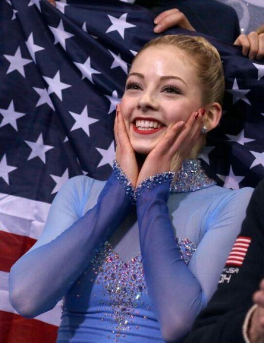 Gracie Gold tiene 18 años y nació en  Newton, Massachusetts.