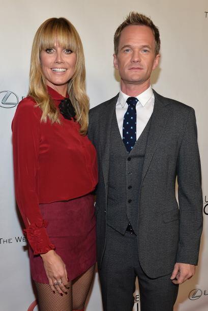 Neil con Heidi Klum. Mira aquí los videos más chismosos.