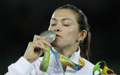 Espinoza obtuvo medalla de plata en Río 2016.