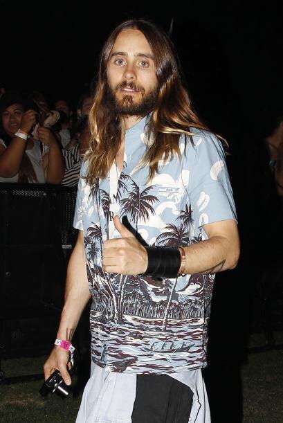 En Coachella y otros conciertos jamás dejó de lucir una brillante cabell...
