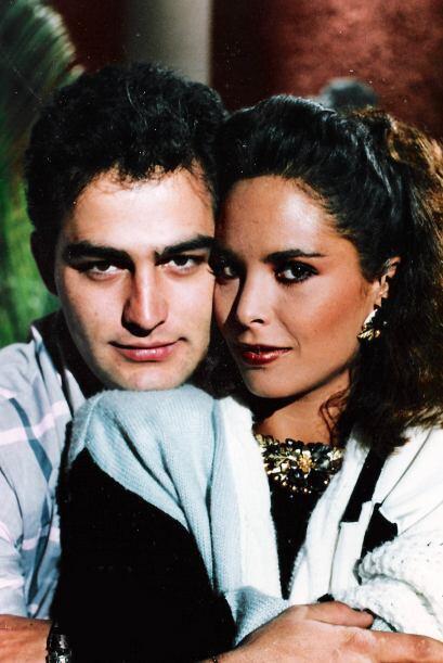 Su primera participación en las telenovelas la realizó con...