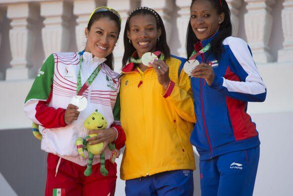 La colombiana Muriel Coneo se colocó en lo más alto del podio de los mil...