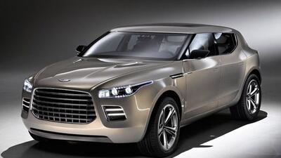La Lagonda Concept se presentó en Ginebra en 2009, pero parece que no nu...