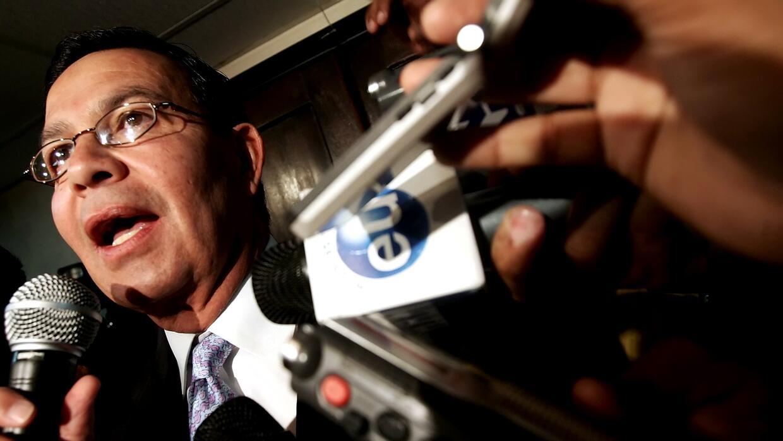 Foto de archivo, 20 de septiembre de 2006, del expresidente hondureño Ra...