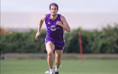 Kaká entrenando con Orlando City SC