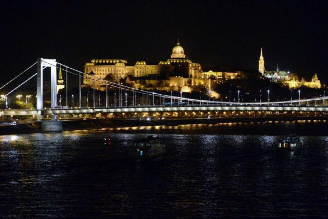 El Buda Palace en Budapest.