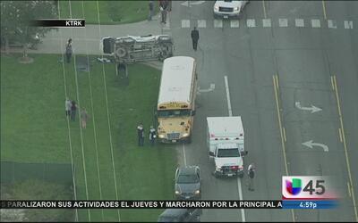 Un accidente deja a 14 heridos en Dayton